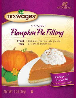 Mrs. Wages® Pumpkin Pie Filling