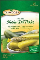 Mrs. Wages® Quick Process Kosher Dill Pickle Mix