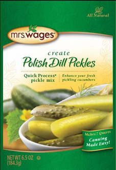 Mrs. Wages® Quick Process Polish Dill Pickle Mix