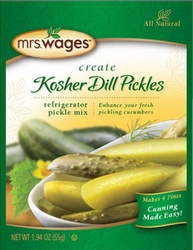 Mrs. Wages® Refrigerator Kosher Dill Pickle Mix Case