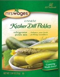 Mrs. Wages® Refrigerator Kosher Dill Pickle Mix