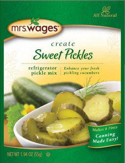 Mrs. Wages® Refrigerator Sweet Pickle Mix