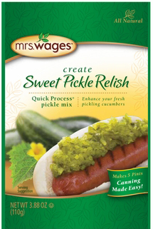 Mrs. Wages® Sweet Pickle Relish Mix