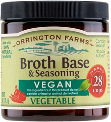 Orrington Farms® All Natural Vegan Vegetable Flavored Base 6 pk Case