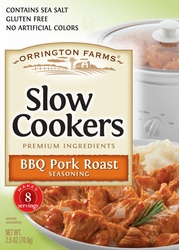 Orrington Farms® BBQ Pork Roast Slow Cookers Mix 12 Pouches/Case