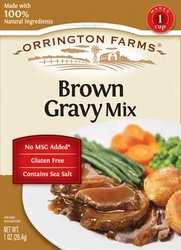 Orrington Farms® Brown Flavored Gray Mix Pouch 12 pk Case