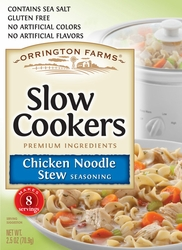 Orrington Farms® Chicken Noodle Soup Slow Cookers Mix 12 Pouches/Case