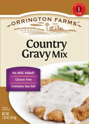 Orrington Farms® Country Gravy Flavored Mix Pouch 12 pk Case