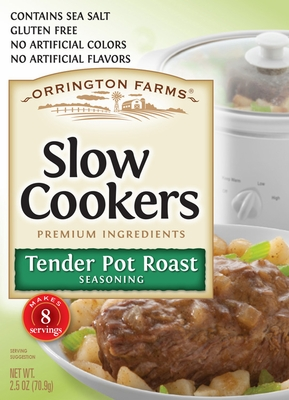 Orrington Farms® Tender Pot Roast Slow Cookers Mix 12 Pouches/Case