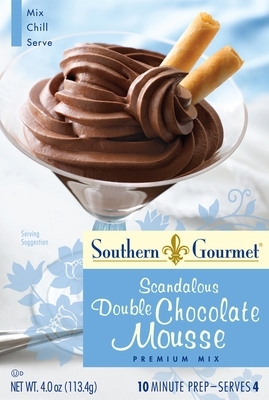 Double Chocolate Mousse Premium Mix (6-pk case)