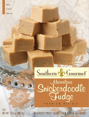 Snickerdoodle Fudge Premium Mix (6-pk case)