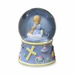 Bedtime Prayers Boy, Rotating Water globe By San Francisco Music Box Co.