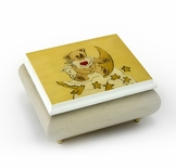 Delightful Thread Bears Moonlight Lullabear Sorrento Music Box