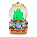 Emerald City Hot Air Balloon from Wizard of Oz Water Globe