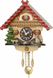 Kuckulino Black Forest Clock with quartz movement with Cat