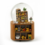 Leisurely Learning - Tribute to Study Hall Animated Water globe