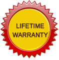 Lifetime Warranty Up to $1000