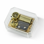 Luxurious Swiss Mechanical 36 Note REUGE Paperweight