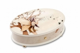 Reuge Enchanted Forest and Fairies 3.72 Note Music Box Titled �Magic�