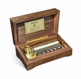 Reuge Limited Edition 150 Year Anniversary 3.72 Note Music Box Titled Celebration