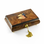 Romantic Fairy Tale Prince and Princess Waltz Musical Jewelry Box
