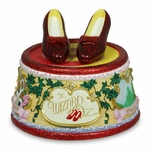 Ruby Slippers Click Figurine By San Francisco Music Box Co.