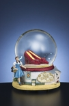Wizard of OZ Ruby Slippers Water Globe By San Francisco Music Box Co.