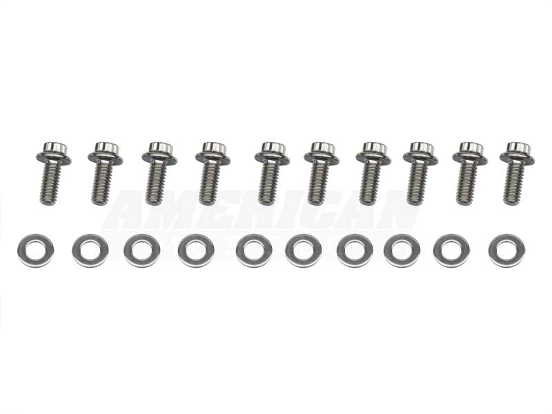 Arp Mustang Stainless Steel Differential Cover Bolts 8