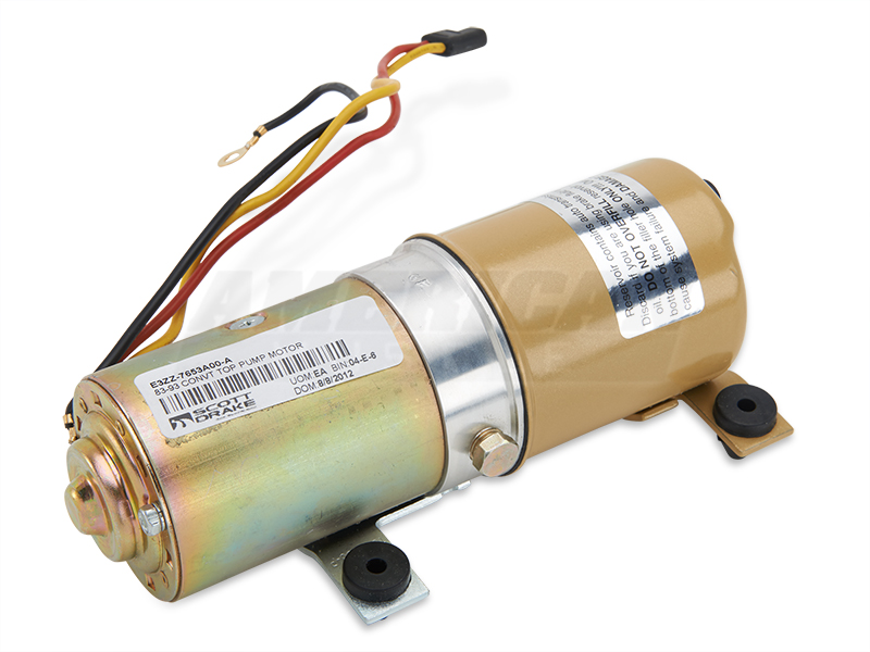 Mustang Convertible Top Pump Motor 83 93 All Free Shipping