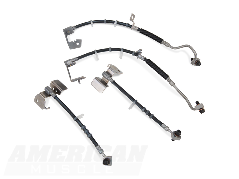 ford racing boss 302 mustang brake line upgrade m
