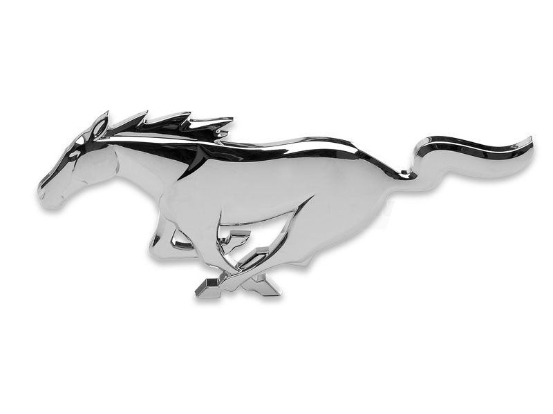 ford mustang pony grill emblem. Black Bedroom Furniture Sets. Home Design Ideas