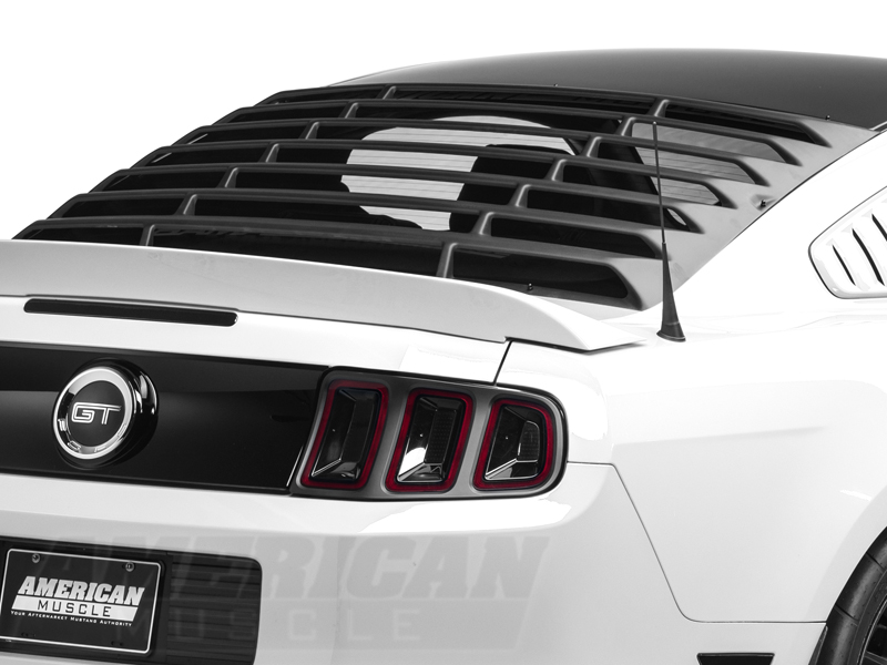 Mmd abs rear window louvers 05 14 coupe autos post for 05 mustang rear window louvers