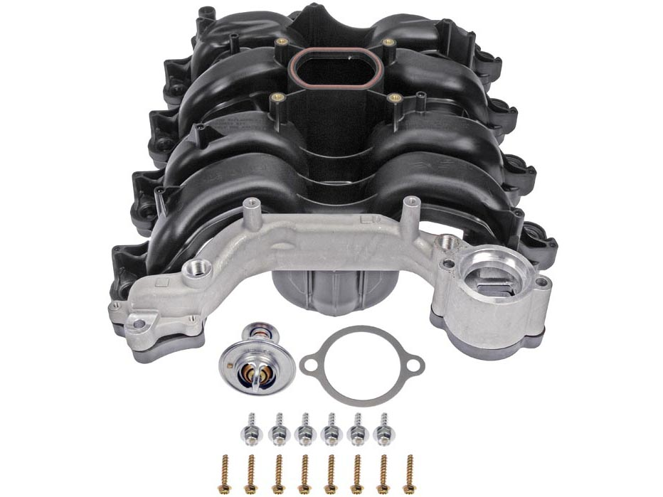 replacement npi mustang intake manifold w gasket set 96. Black Bedroom Furniture Sets. Home Design Ideas