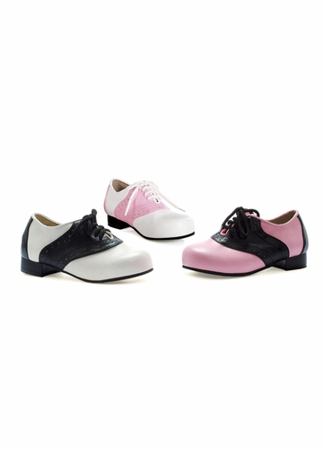 1 Inch Two Tone Oxford Shoes Saddle