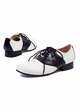 1 Inch Two Tone Oxford Shoes Saddle inset 1