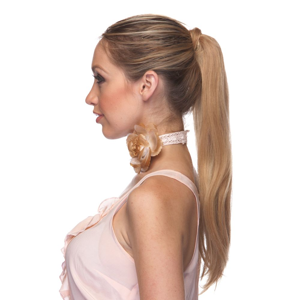 100 Human Hair Ponytail Hair Piece