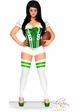 2-Piece Green Football Fantasy Corset Costume  inset 3