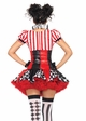 3-Piece Harlequin Clown Costume from Leg Avenue inset 1