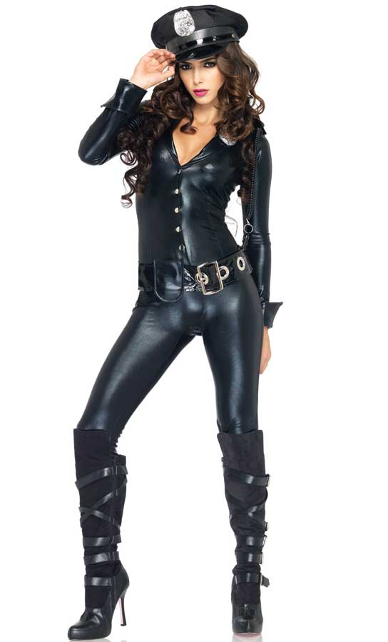 Sexy police girl outfit-8551
