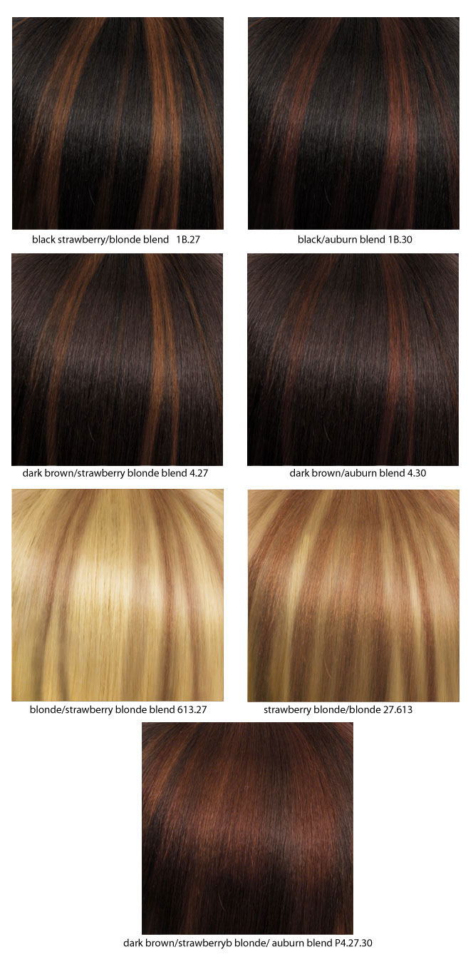5 Piece Straight Clip In Hair Extensions Heat And Styling Friendly