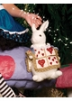 Alice in Wonderland Rabbit Plush Purse inset 1