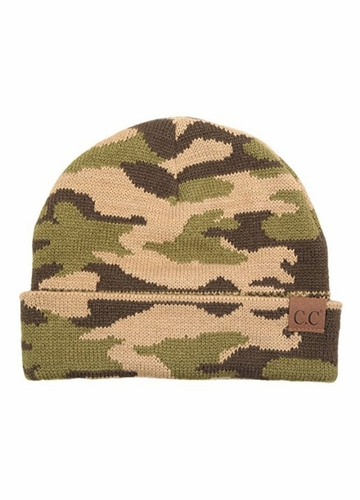 All Over Camouflage CC Beanie Hat
