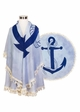 Anchor Beach Blanket coverup inset 1