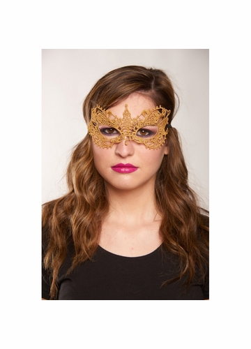 Angel Lace Mask with Satin Ties