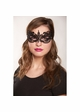 Angel Lace Mask with Satin Ties inset 2