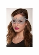 Angel Lace Mask with Satin Ties inset 3