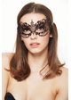 Angel Masquerade Mask with Crystal Gems inset 3
