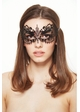Angel Masquerade Mask with Crystal Gems inset 4