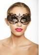 Angel Masquerade Mask with Crystals inset 1