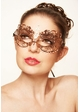 Angel Masquerade Mask with Crystals inset 4